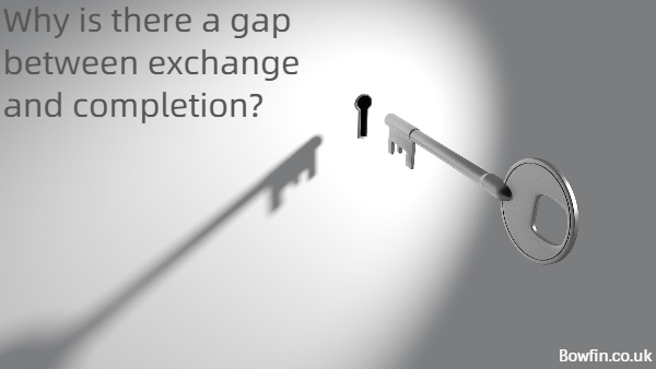 Why is there a gap between exchange and completion